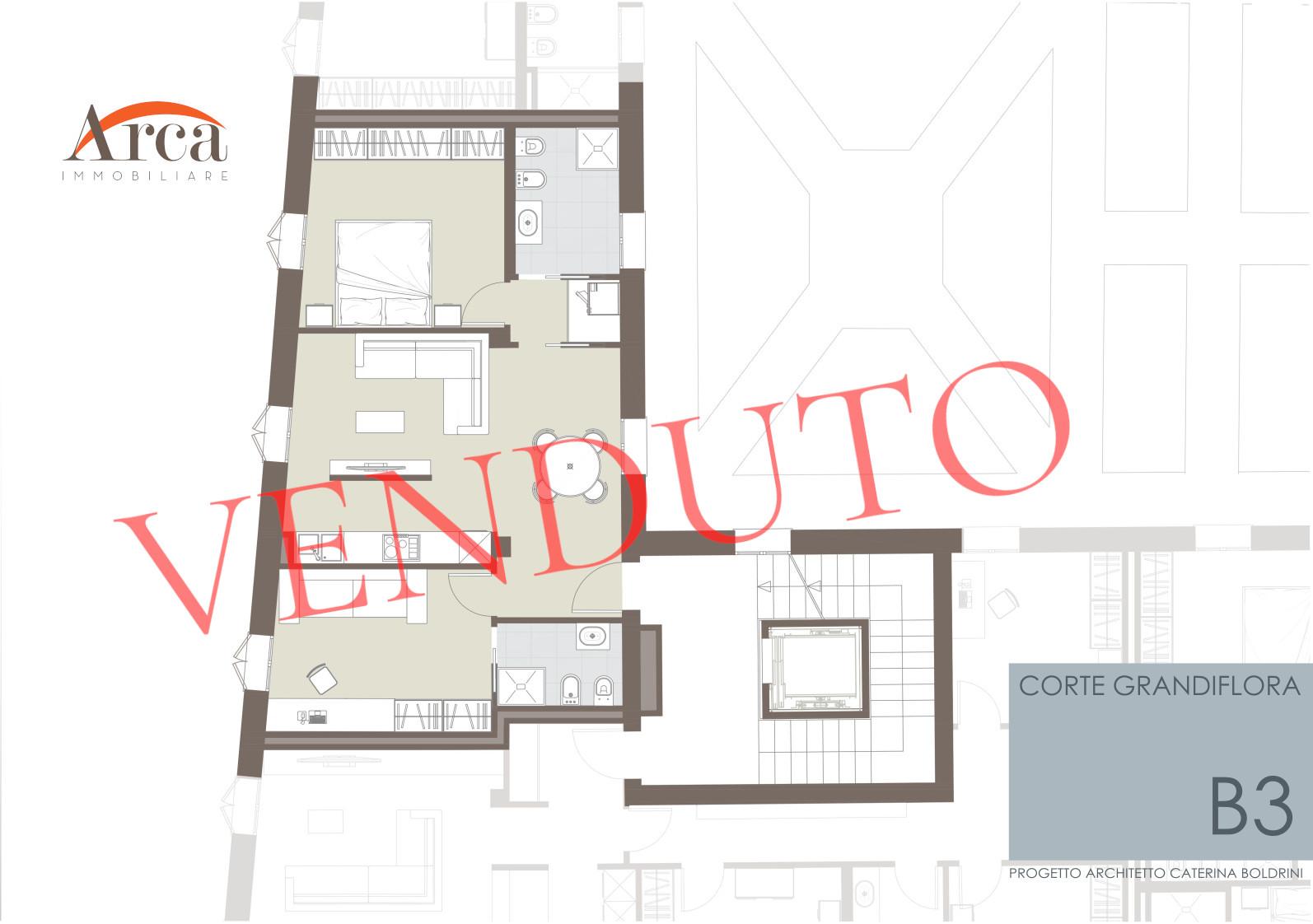 Appartamento B3 - Venduto