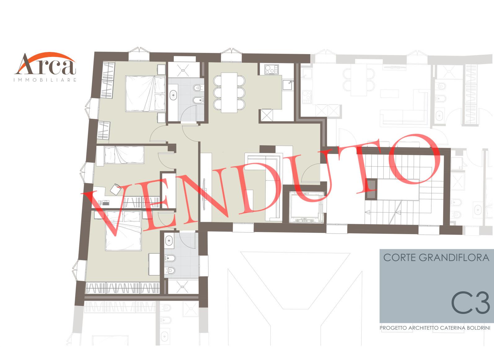 Appartamento C3 - venduto