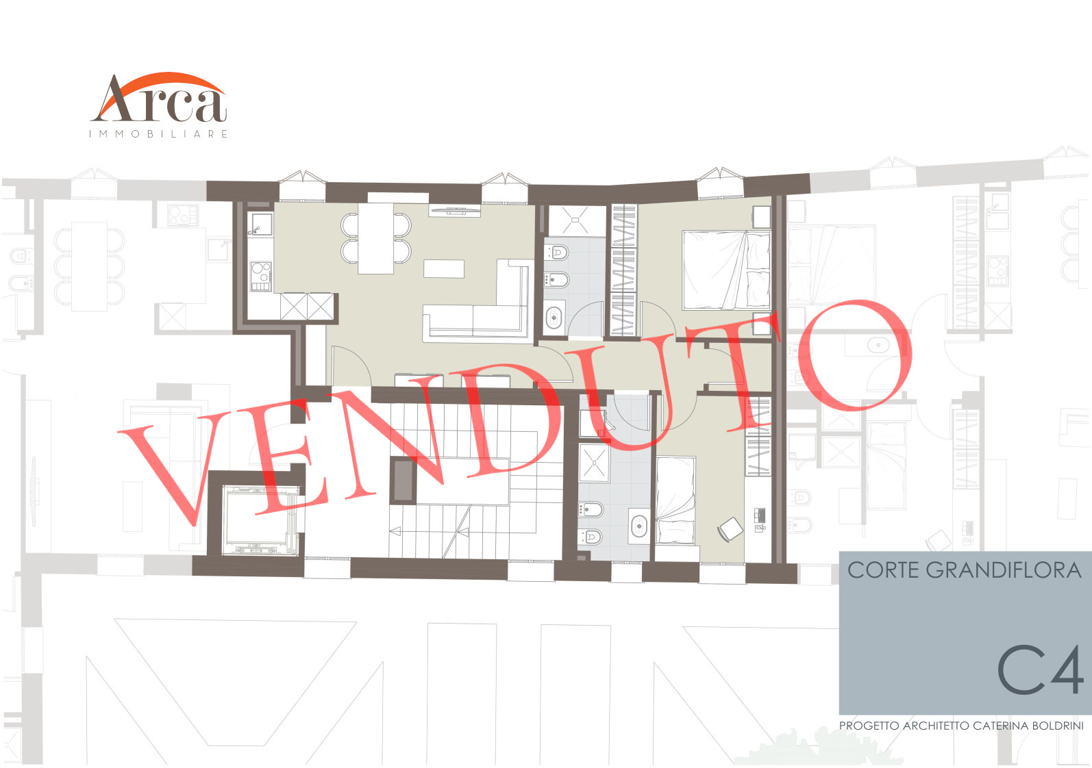 Appartamento C4 - venduto